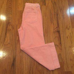 GAP Women Size 12 Pants High Rise Wide Leg Pink